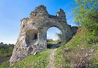 Ancient Fortress Ruins Royalty Free Stock Photography - Image: 19044527