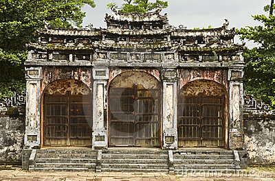 Ancient Gate of Minh Mang