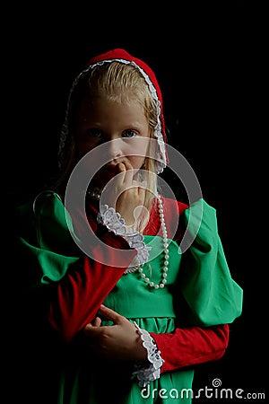 Free Ancient Girl Royalty Free Stock Photos - 908588