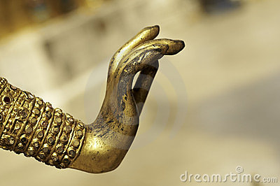 Ancient Gold Hand