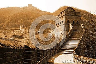 Ancient Great Wall of China