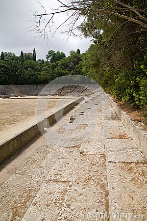 Ancient Greek Acropolis Sports Stadium