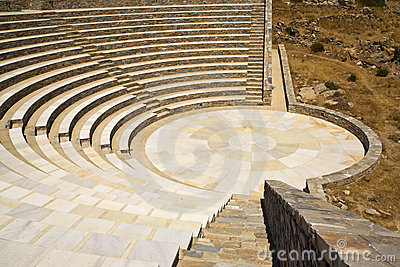 Ancient Greek Amphitheater, Greece