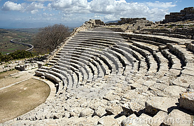 Ancient Greek amphitheatre