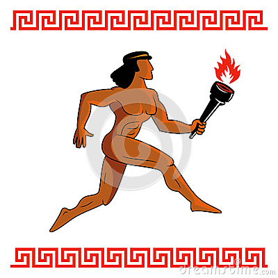 Ancient Greek athlete