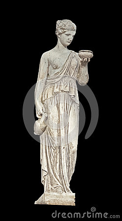 Ancient greek classical statue