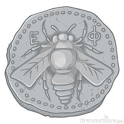 Honey bee coin