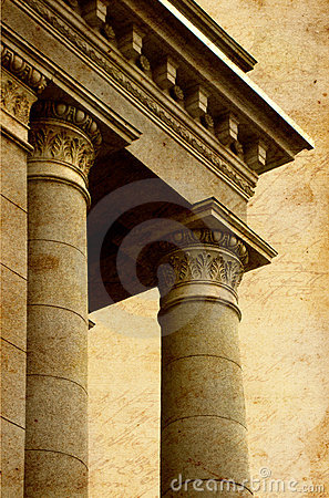 Free Ancient Greek Columns Royalty Free Stock Photography - 19248167