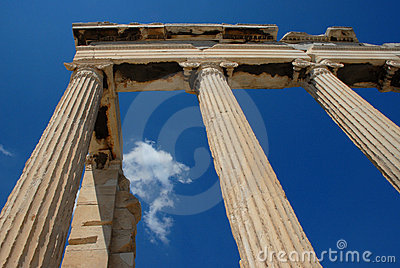 Ancient Greek Nike Temple