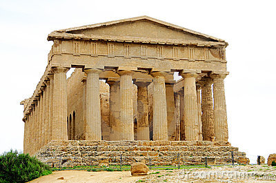 Ancient greek temple in Agrigento