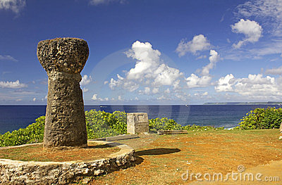 Ancient Guam Latte Stone