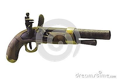 Ancient gun