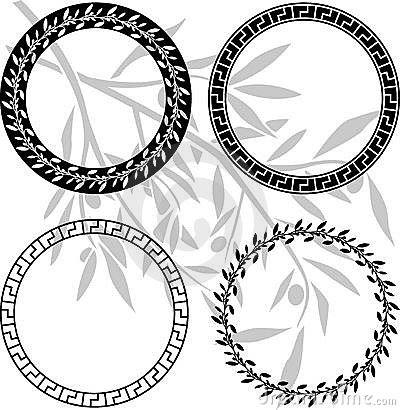 Ancient hellenic patterns in rings