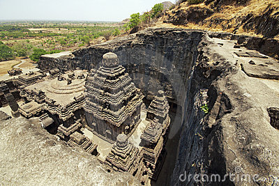 Ancient Hindu Rock Temple