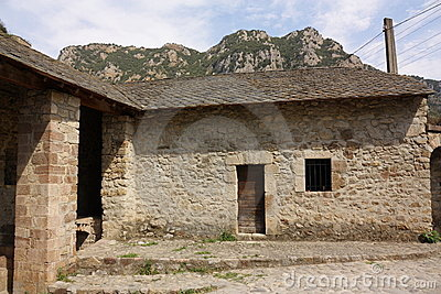 Ancient house in Pyrenees