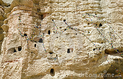 Ancient human settlement in Nepalese caves
