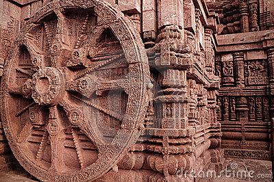Ancient Indian architecture at Konark