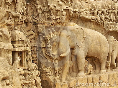 Ancient indian engravings