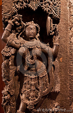 Free Ancient Indian Sculpture Stock Images - 19708074