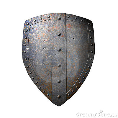 Ancient Iron Shield