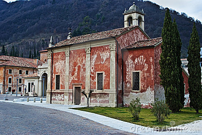 Ancient italian church