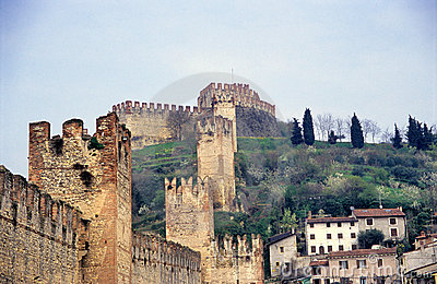 The Ancient Italian Walled City, Soave
