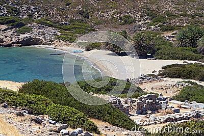 Ancient Itanos area, Crete, Greece