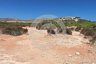 Ancient Itanos area at Crete island, Greece