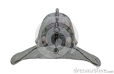 Ancient Japanese warrior helmet