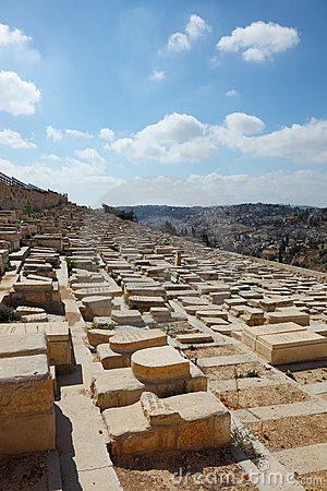 The ancient Jewish cemetery