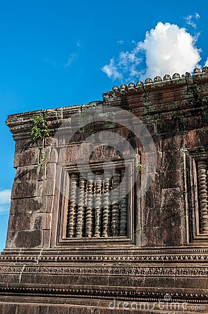 Ancient Khmer Architecture at Wat Phou