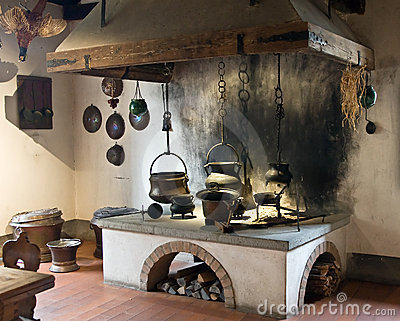 Ancient kitchen