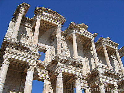Ancient Library - Ephesus