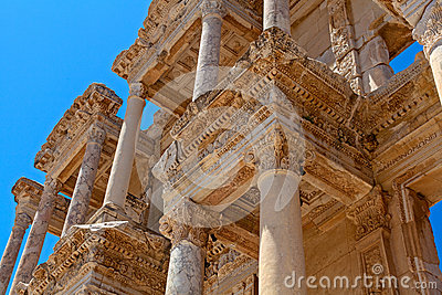 Ancient library in Ephesus