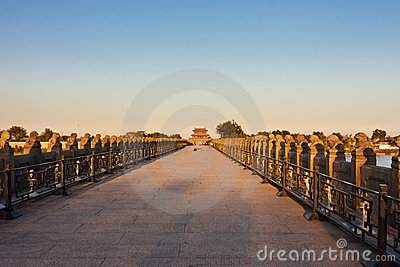 Ancient Lugou Bridge/Marco Polo Bridge, Beijing