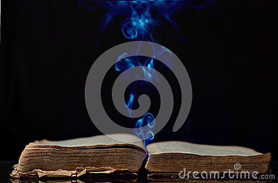 The ancient magic book