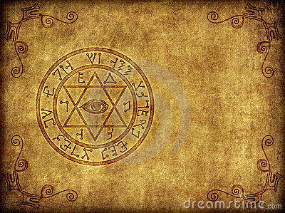Ancient Magic Sigil Illustration