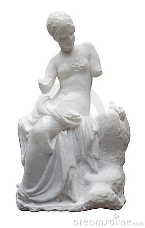 Free Ancient Marble Statue Of A Nude Woman Royalty Free Stock Photos - 12701888