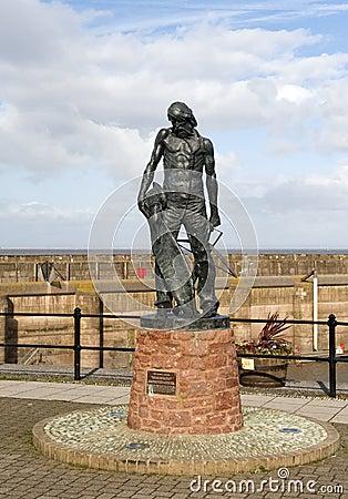 Ancient Mariner Statue Watchet Harbour