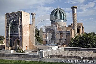 Ancient mausoleum in  Uzbekistan