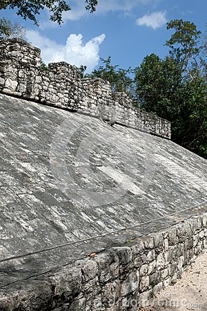 Ancient Mayan Ball Court