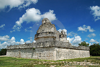 Ancient Mayan Observatory