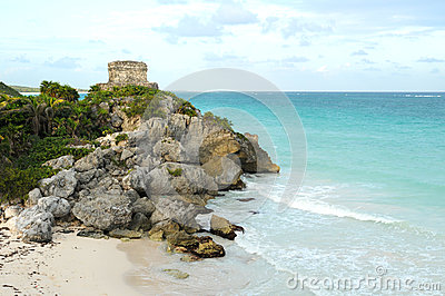 Ancient Mayan Ruin named God of Winds Temple