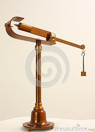 Ancient Mohr densitometer