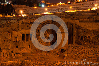 Ancient monument in jerusalem