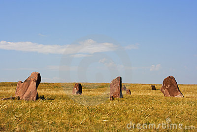 Ancient monuments of Khakassia. Variant one.