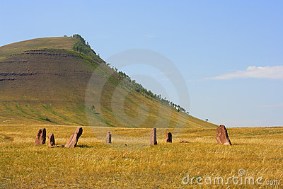 Ancient monuments of Khakassia. Variant two.