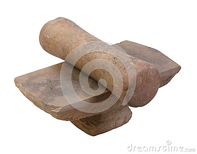 Ancient mortar