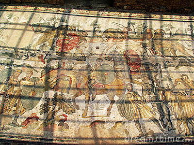 Ancient Mosaic Villa del Casale.