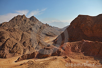 Ancient mountains in Eilat